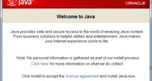 تنزيل احدث اصدار من برنامج الجافا Java Runtime