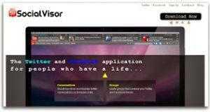 تحميل برنامج Social Visor للتحكم في الفيس بوك وتويتر