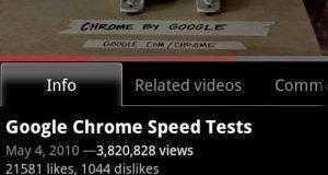 تطبيق اليوتيوب لهواتف نظام الاندرويد Youtube App