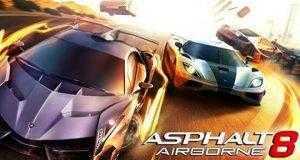 لعبة أسفلت Asphalt 8: Airborne لأندرويد وأيفون وويندوز فون