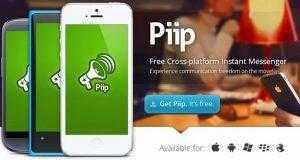 Piip برنامج محادثة نصية بديل لبرنامج ال واتس اب Whatsapp