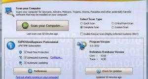 تحميل برامج مكافحة التجسس SuperAntiSpyware