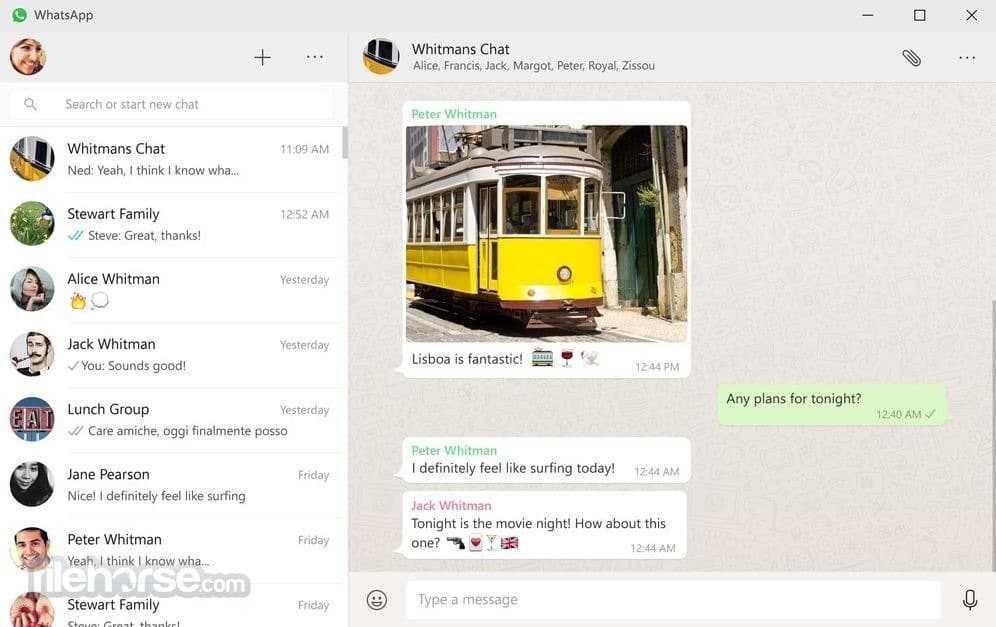 برنامج Whatsapp V0.2.5093 للويندوز أحدث إصدار 2017