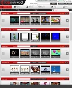 برنامج بحث وتحميل الفيديو من اليوتيوب وفيسبوك ومواقع مشاركة الفيديوهات الأخرى Ashampoo ClipFinder HD 2 v2.51