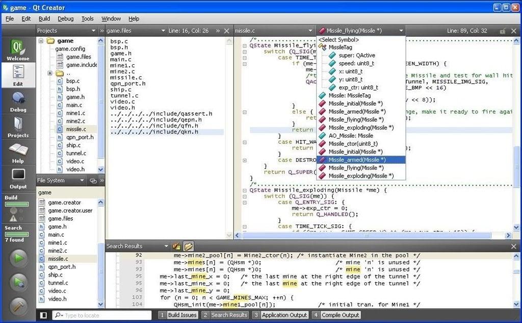 تحميل برنامج كيوت نوكيا Qt Creator 4.4.0 أحدث نسخة مجانا