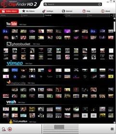 برنامج بحث وتحميل الفيديو من اليوتيوب وفيسبوك ومواقع مشاركة الفيديوهات الأخرى Ashampoo ClipFinder HD 2 v2.512