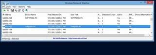 برنامج مراقبة شبكات الواى فاى والكشف عن المتصلين Wireless Network Watcher 2.153
