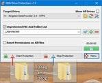 برنامج حمايه من الفيروسات لفلاشات اليو إس بى NTFS Drive Protection 1.56