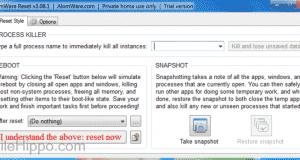 تحميل برنامج AlomWare Reset لإغلاق النوافذ