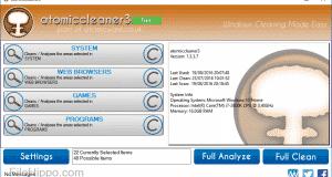 تحميل برنامج atomiccleaner لتنظيف السجل على جهازك