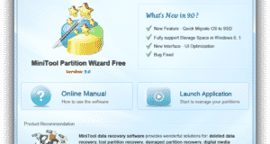 تحميل برنامج MiniTool Partition Wizard Home Edition