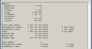 تحميل برنامج MyDefrag لإلغاء تجزئة القرص الصلب