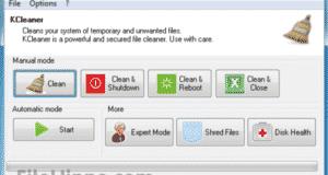 تحميل برنامج KCleaner لتنظيف جهازك