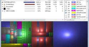تحميل برنامج WinDirStat لتحليل القرص الصلب