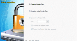 تحميل برنامج GiliSoft Private Disk