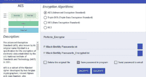 تحميل برنامج Perfecto Encryptor لتشفير البيانات