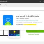 تحميل برنامج Apowersoft Android Recorder