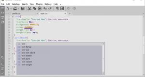 تحميل برنامج CudaText لتحرير النصوص