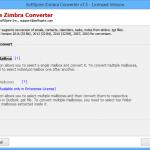 تحميل برنامج Zimbra Converter