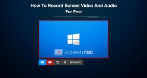 تحميل برنامج Free Screen Recorder