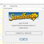 تحميل برنامج Sandboxie