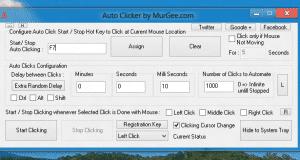 تحميل برنامج GS Auto Clicker