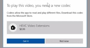 تحميل برنامج HEVC Video Extensions