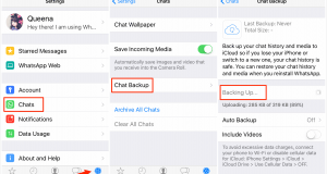 تحميل برنامج iPhone WhatsApp Recovery