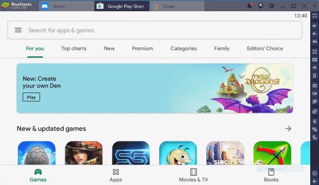 كيفية تثبيت واستخدام تطبيقات Android من متجر Google Play باستخدام BlueStacks
