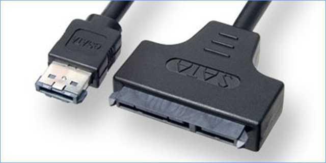 ما هو مدخل eSATA في حاسوبك المحمول وكيف يمكنك استخدامه والاستفاده منه