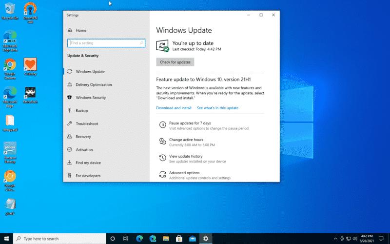 ما هي اهم التحسينات والاضافات في الاصدار الاخير من ويندوز 10 (21H1)