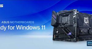 تبدأ Asus في اختبار دعم Windows 11 لبعض وحدات المعالجة المركزية Intel القديمة على اللوحات الأم المحددة