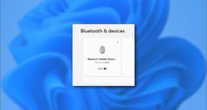 كيفية التحقق من بطارية جهاز Bluetooth متصل بالكمبيوتر في نظام التشغيل Windows 11
