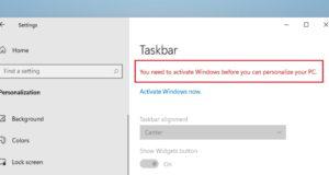 فيما يلي كيفية تخصيص Windows 11 بدون تنشيطه