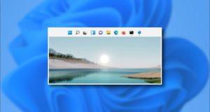 كيفية نقل شريط مهام Windows 11 إلى أعلى الشاشة