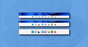 كيفية جعل شريط المهام الخاص بك أكبر أو أصغر على Windows 11